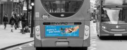 Kings Lynn Museum Bus back design
