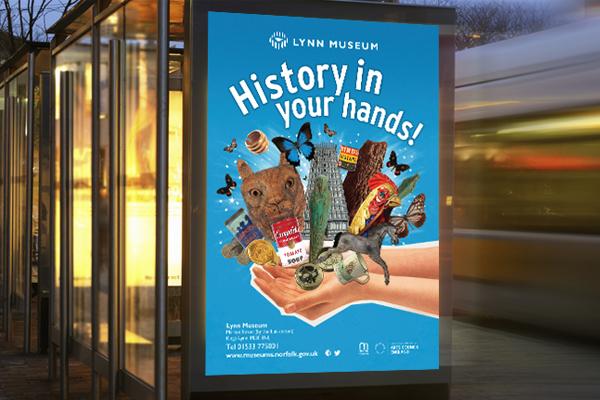 Kings Lynn museum Busstop Advertising