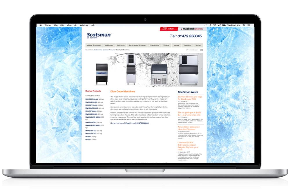 Scotsman website example