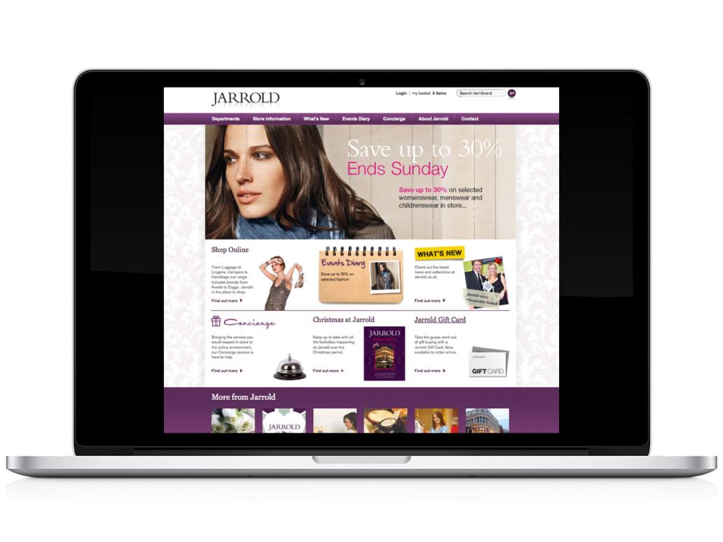 Jerrold website design idea