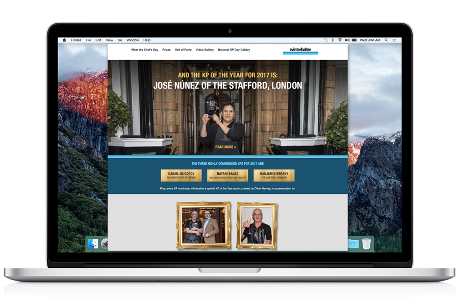 KP of the year website