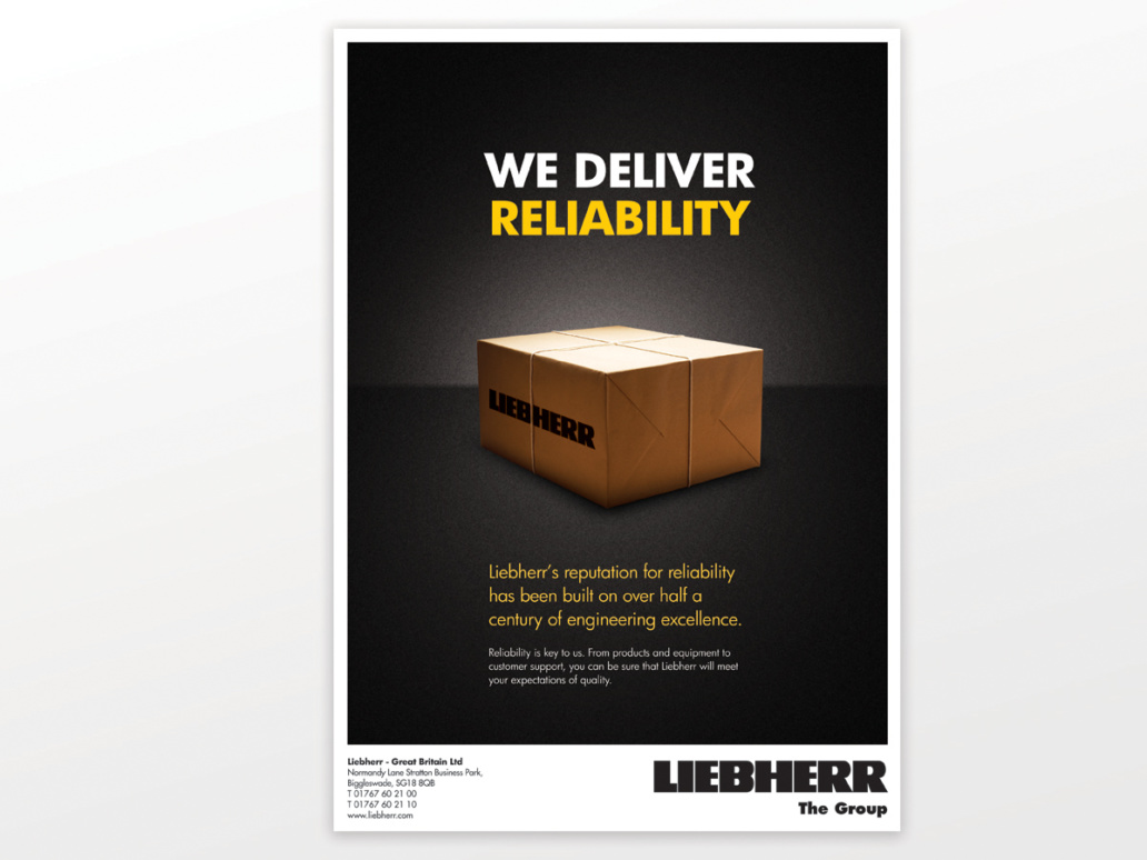 Liebherr Advert