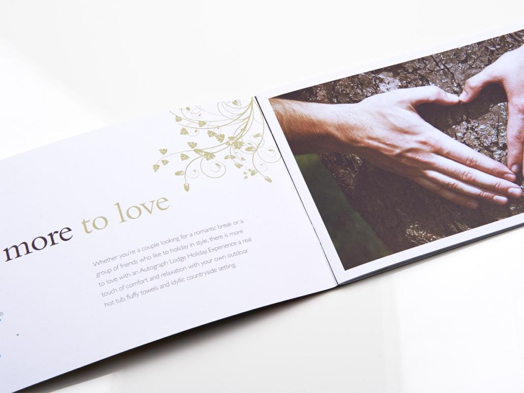 Hoseasons Booklet design