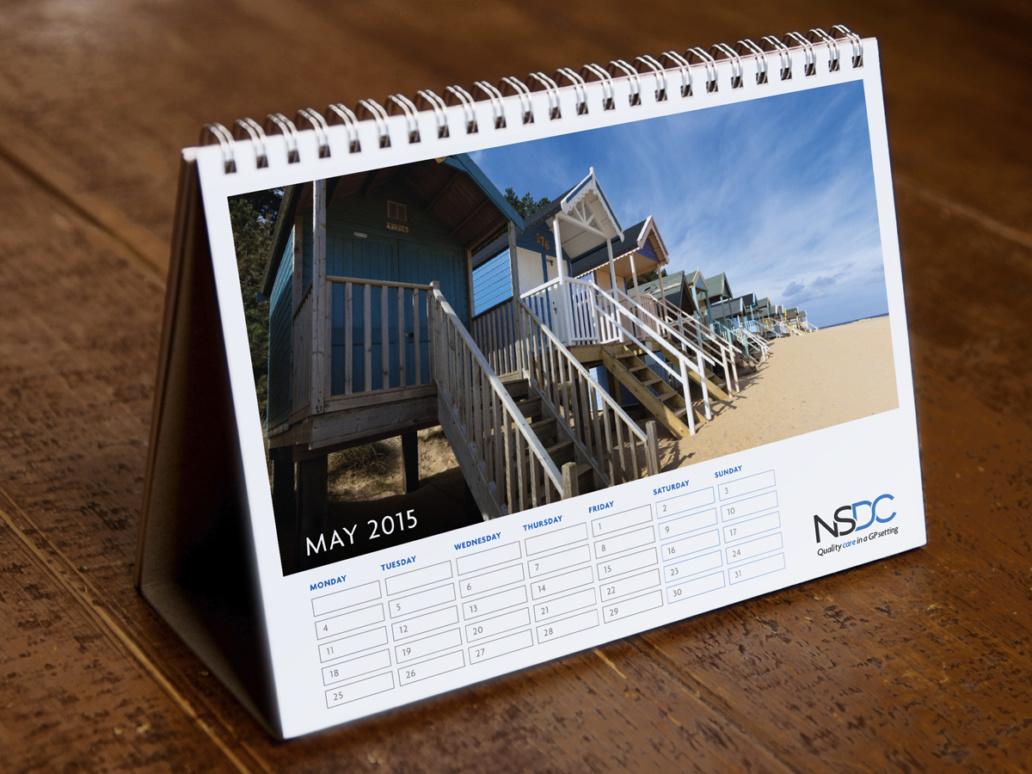 NSDC calendar design idea