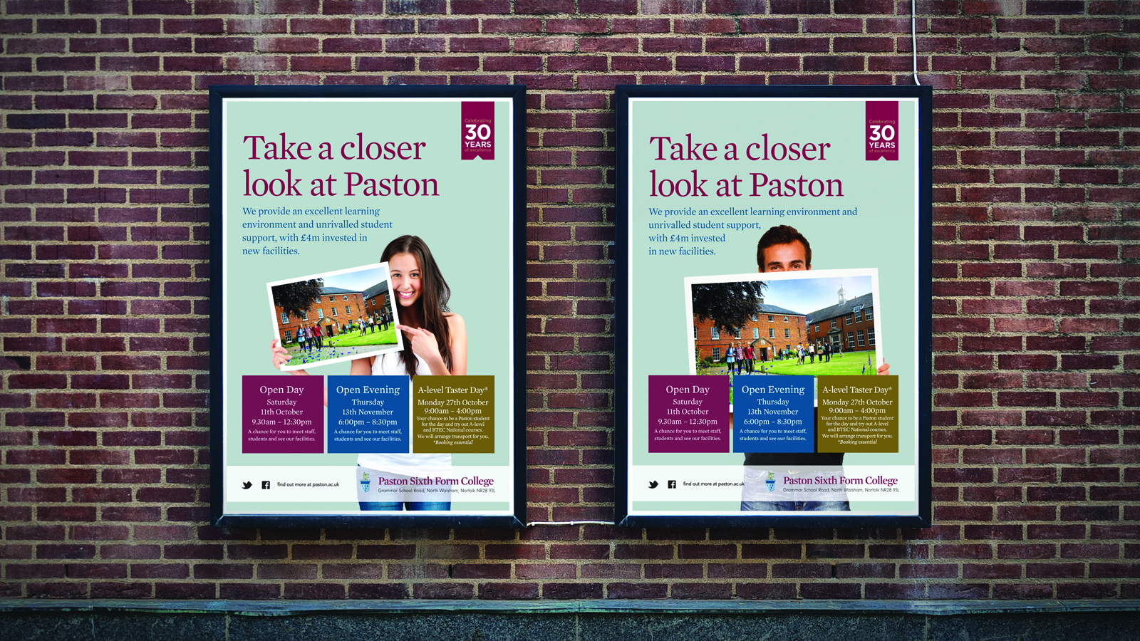 Paston A0 poster designs